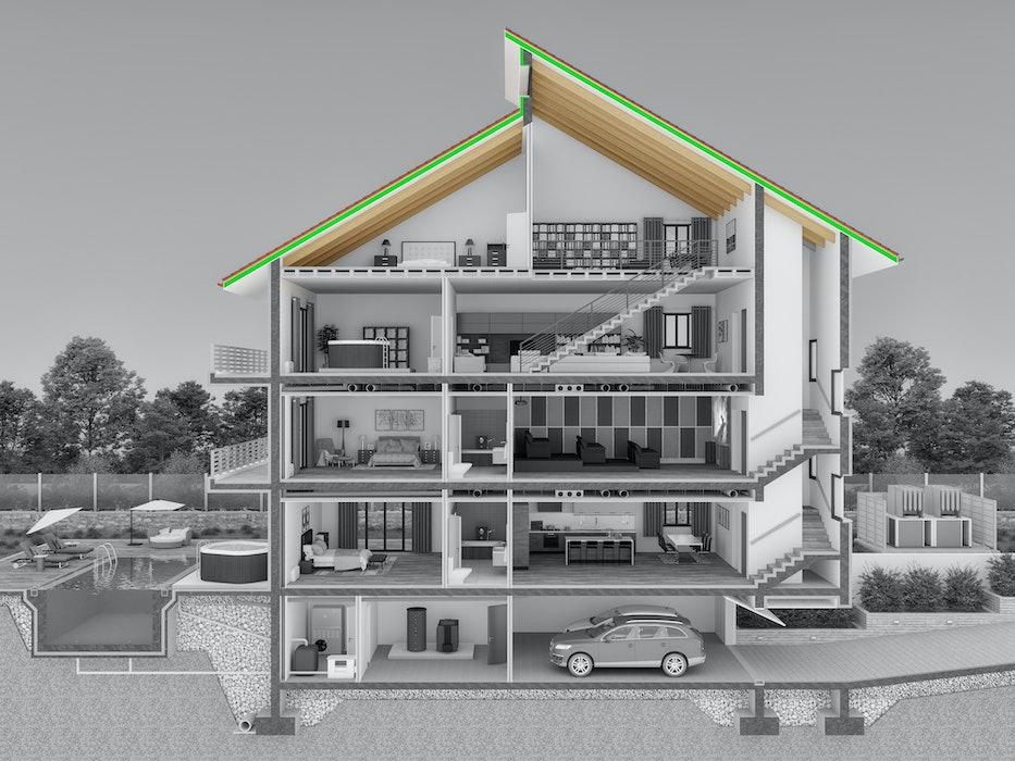 Θερμομόνωση Στέγης - Οροφής
